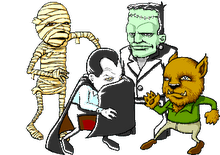 Animated_Cute_Dancing_Monsters_Mummy_Dracula_Frankenstein_Wolfman-1