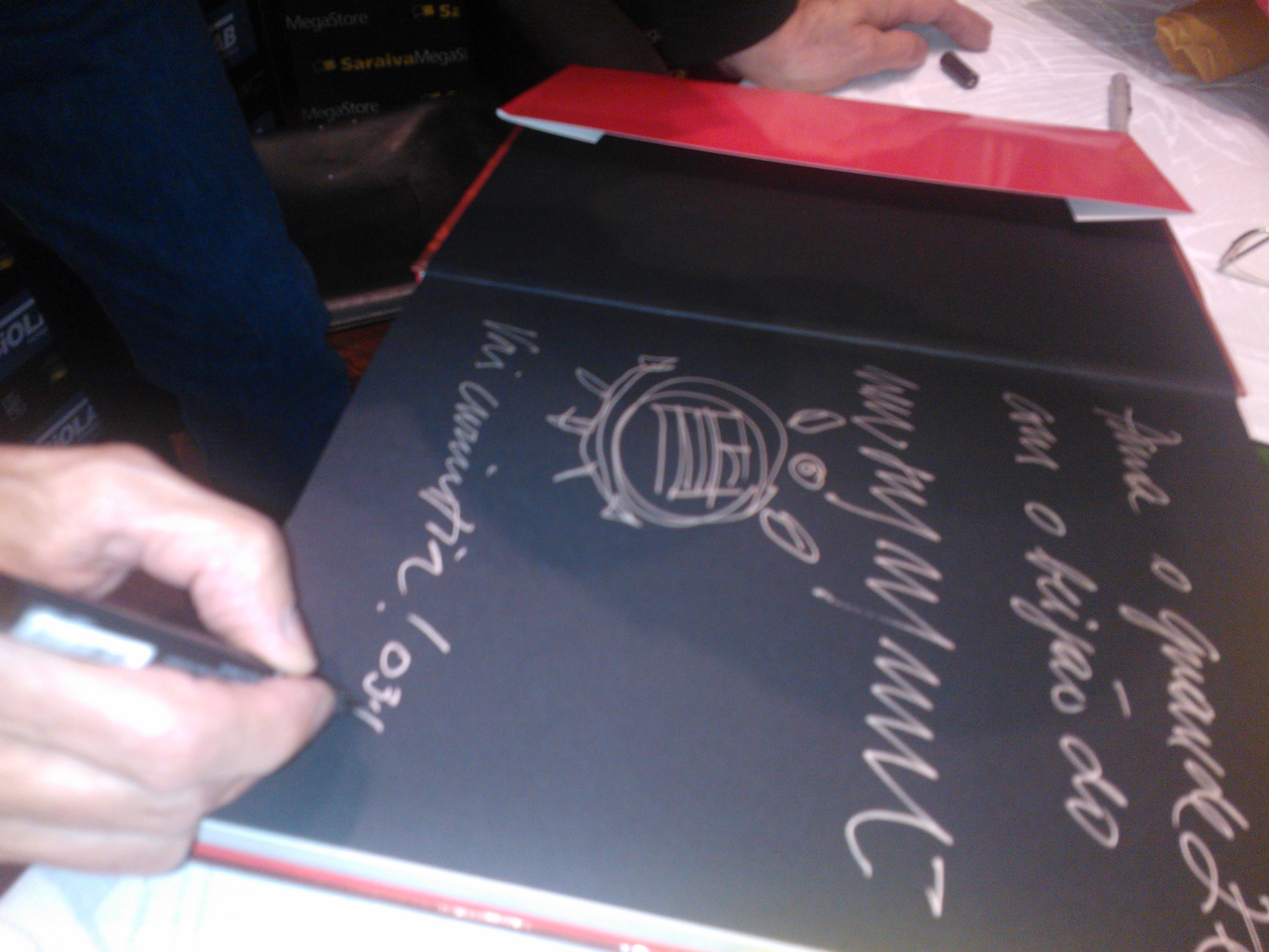 autografo neumanne-newton mesquita