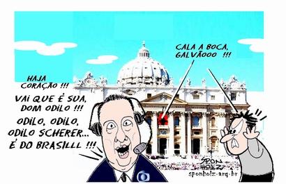 papa brasileiro - por Sponholz