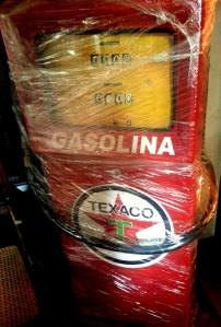 bomba de gasolina para enfeite